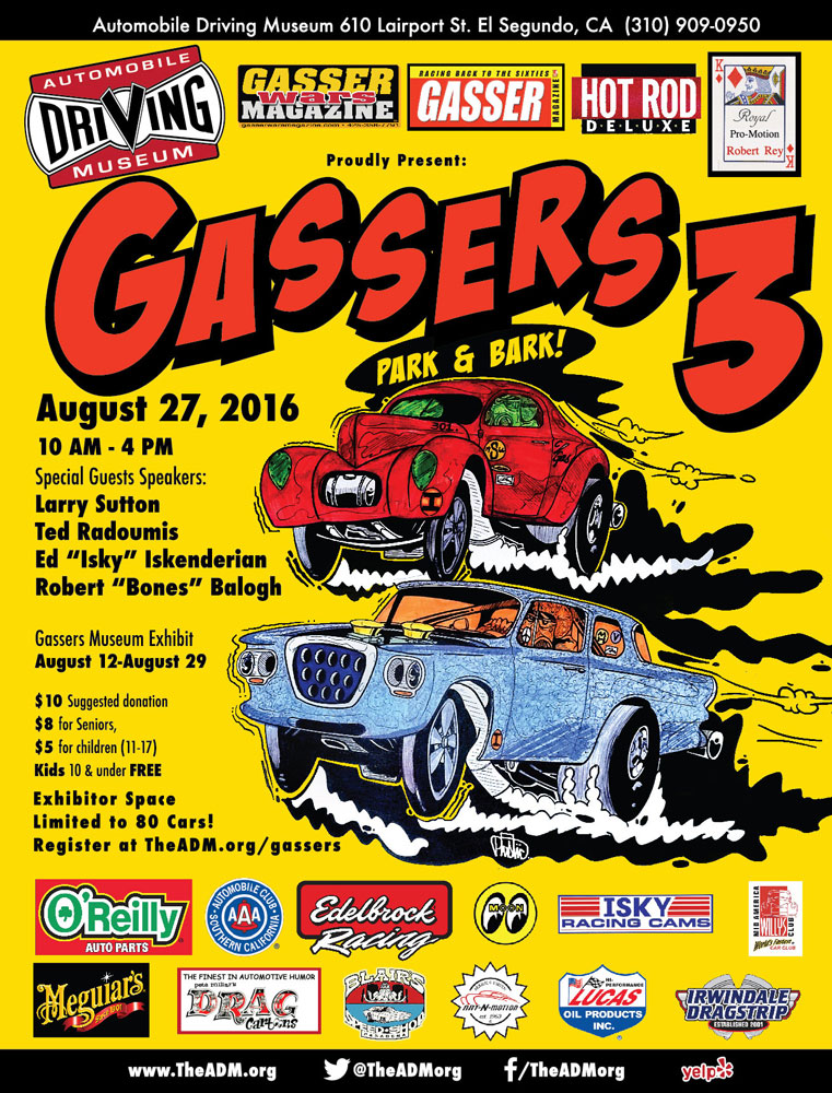 2016 ADM Gassers 3 Park and Bark
