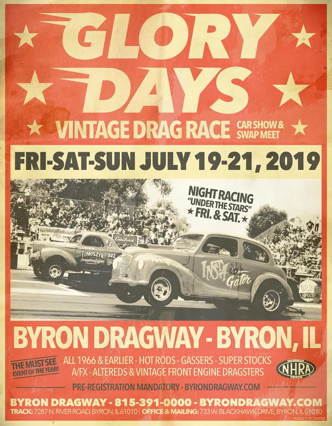 poster of Glory Days Vintage Drag Race
