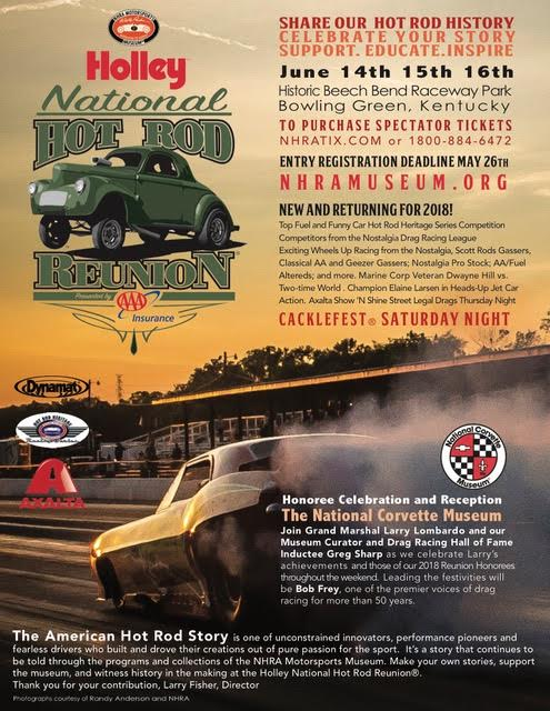 16th Annual Holley National Hot Rod Reunion