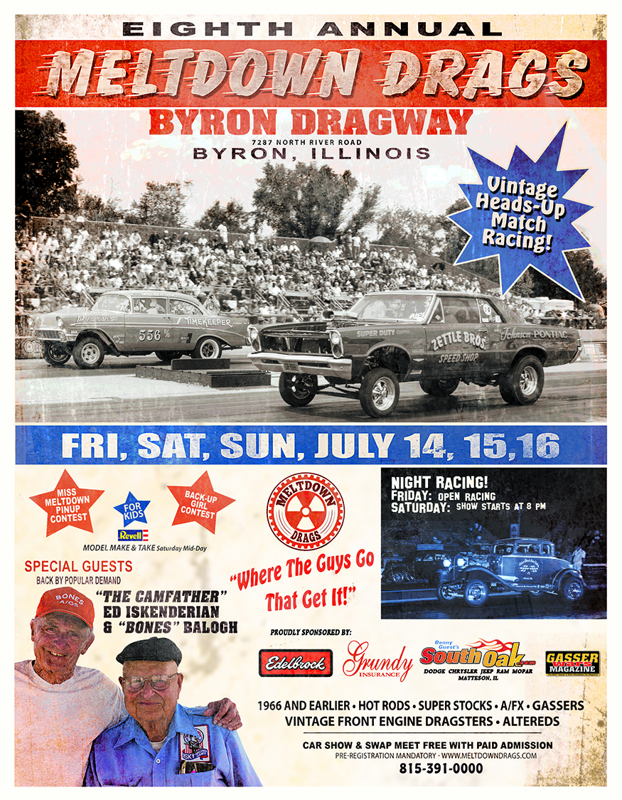 8th Annual Meltdown Drags - July 14-16, 2017