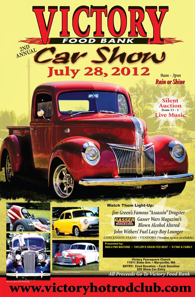 July 28, 2012 - 2nd Annual Victory Food Bank Car Show