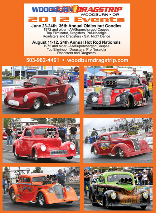 Woodburn Dragstrip 2012 Events
