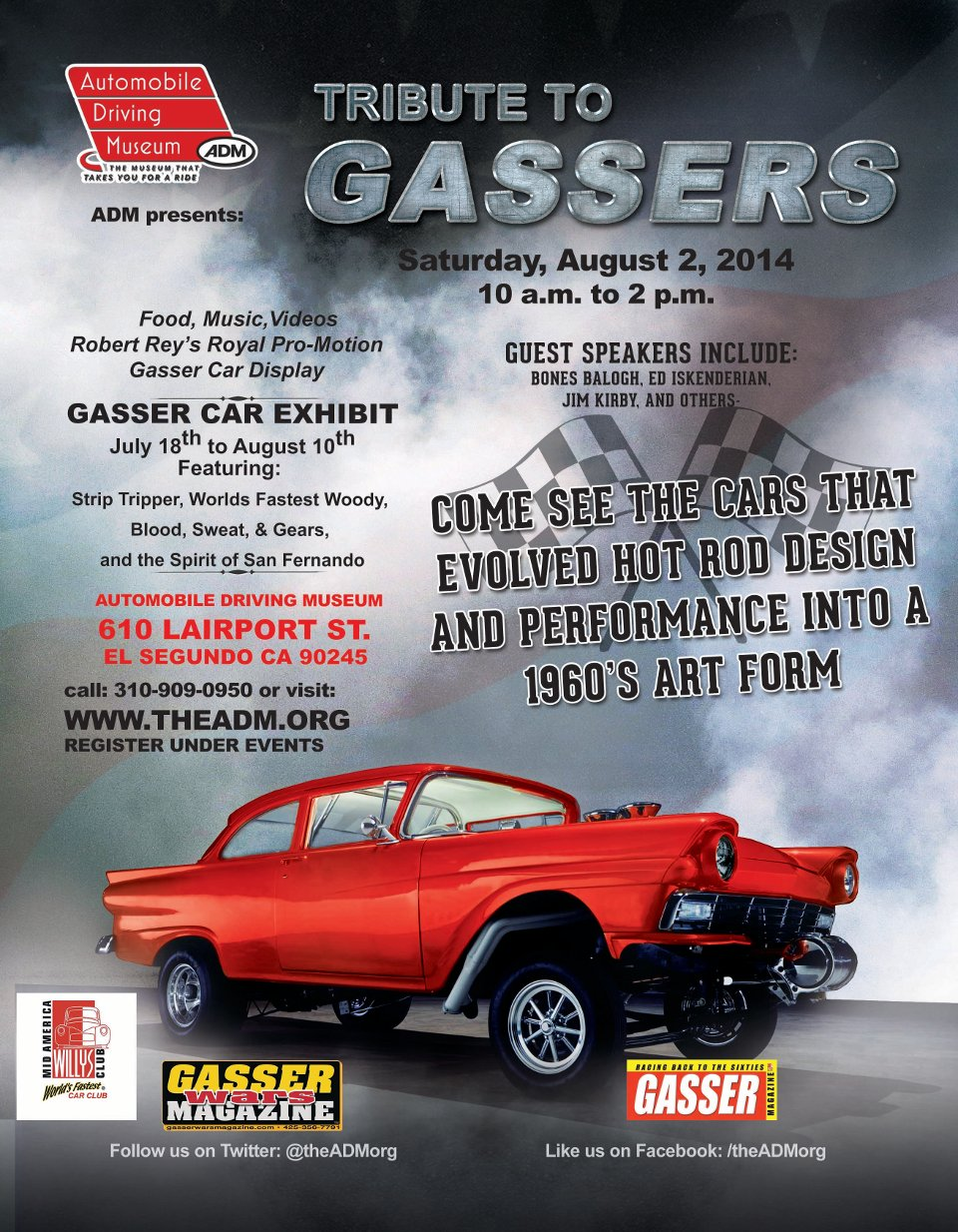 2014 Automobile Driving Museum Events