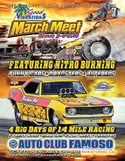 Local and national gasser events gasser wars magazine for Bakersfield home magazine