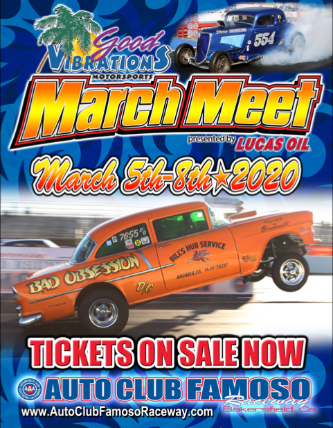 poster of 2020 Good Vibrations Motorsports March Meet