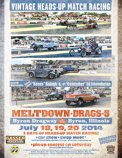 July 18-20, 2014 - Meltdown Drags
