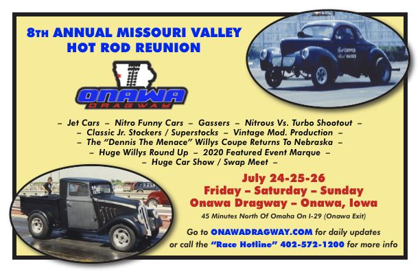 poster of 8th Annual Missouri Valley Hot Rod Reunion