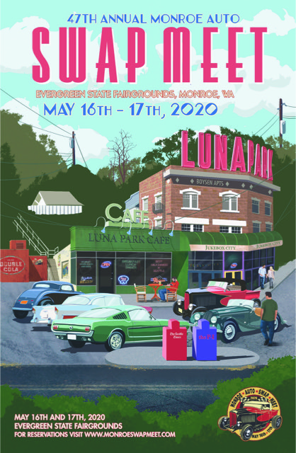 poster of 2020 47th Annual Monroe Auto Swap Meet