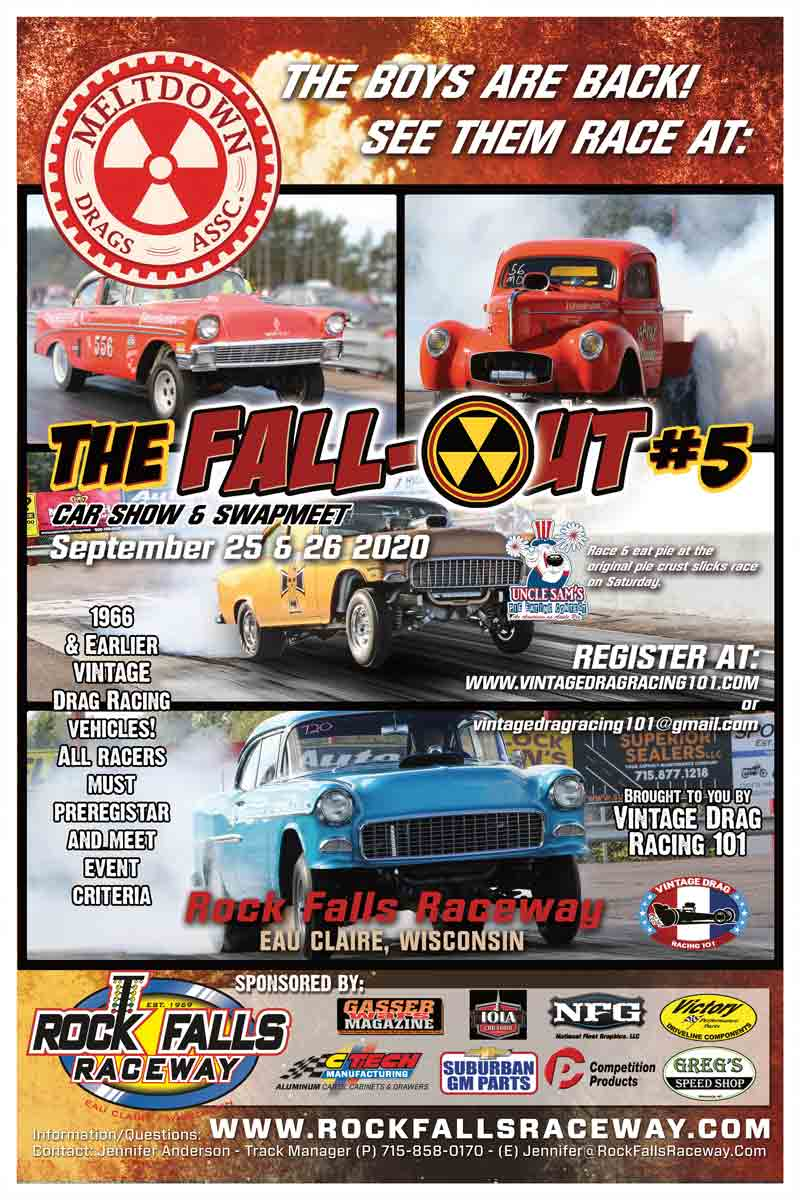 poster of 2020 Rock Falls Raceway Fall-Out #5