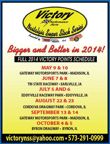 2014 Victory Points Schedule