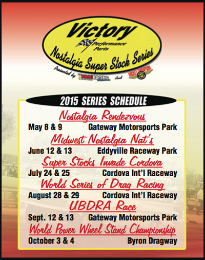 2015 Victory Points Schedule