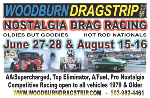 2015 Woodburn Dragstrip Events